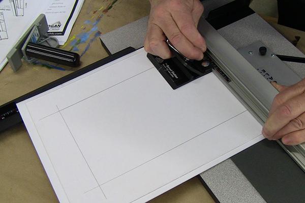 mat cutting mounting