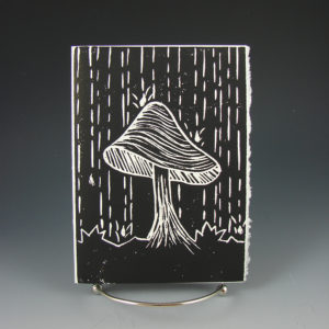 Spring Mushroom by J. Bobcock